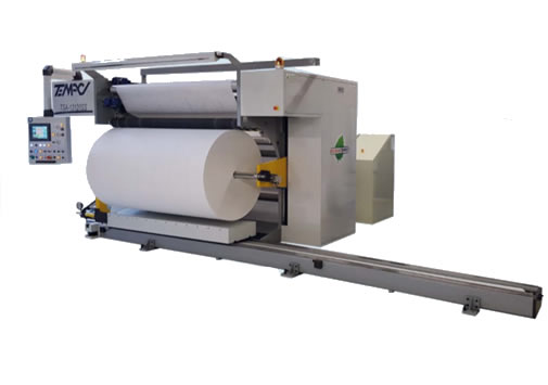Single-Shaft Slitter Rewinder